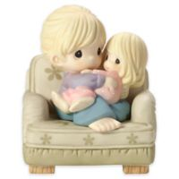 Precious Moments® Mom Hugging Girl in Chair Figurine
