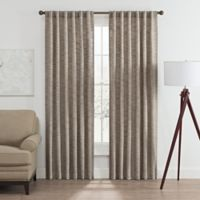 Vella 84-Inch Rod Pocket/Back Tab Room Darkening Window Curtain Panel in Blue