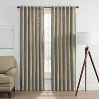 Vella 108-Inch Rod Pocket/Back Tab Room Darkening Window Curtain Panel in Aegean