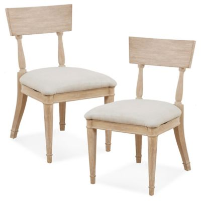 Madison Park Signature™ Microfiber Upholstered Whelington Dining Chair In  Light Natural
