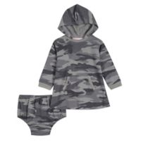 Splendid Kids Size 18-24M 2-Piece Hooded Dress and Diaper Cover Set in Camo