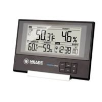 Meade® Slim Line Personal Weather Station with Atomic Clock