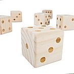 Hey! Play! Giant Wooden Yard Dice
