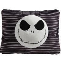 Pillow Pets® The Nightmare Before Christmas Jack Skellington Pillow Pet in Black