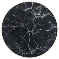 Palace Onyx 13-Inch Coupe Melamine Round Platters (Set of 6)