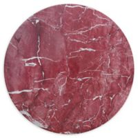 Palace Rosso 13-Inch Coupe Melamine Round Platters (Set of 4)