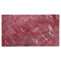Palace Rosso 18-Inch Coupe Melamine Rectangular Platters (Set of 4)