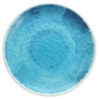 Flora 11-Inch Coupe Melamine Plates in Blue (Set of 12)