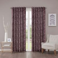 Regency Heights Cosma 108-Inch Rod Pocket/Back Tab Window Curtain Panel in Amethyst