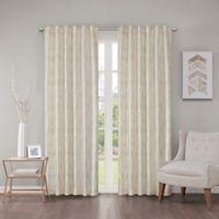 Regency Heights Cosma 108-Inch Rod Pocket/Back Tab Window Curtain Panel in Ivory
