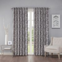 Regency Heights Cosma 63-Inch Rod Pocket/Back Tab Window Curtain Panel in Platinum
