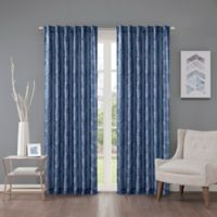 Regency Heights Cosma 63-Inch Rod Pocket/Back Tab Window Curtain Panel in Sapphire