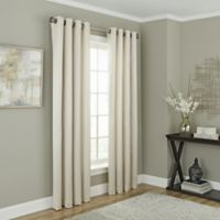 Chesterfield 95-Inch Grommet Room Darkening Window Curtain Panel in Oyster