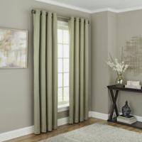 Chesterfield 63-Inch Grommet Room Darkening Window Curtain Panel in Green