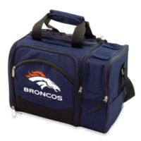 Picnic Time® Denver Broncos Malibu Insulated Cooler/Picnic Basket