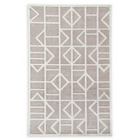 Jaipur Living Cannon Geometric 9' x 12' Power-Loomed Area Rug in Grey