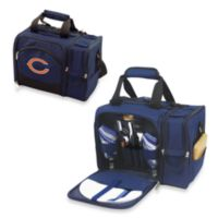 Picnic Time® Malibu Insulated Cooler/Picnic Basket in Chicago Bears