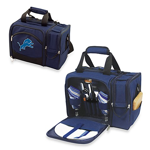 Picnic Time® Malibu Insulated Cooler/Picnic Basket in Detroit Lions