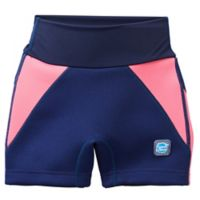 Splash About Small Children's Jammers in Navy/Pink
