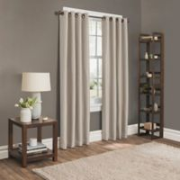 Sebastian 63-Inch Grommet Room Darkening Window Curtain Panel in Natural