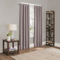Sebastian 63-Inch Grommet Room Darkening Window Curtain Panel in Lilac
