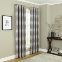 Payson 63-Inch Grommet 100% Blackout Window Curtain Panel in Taupe