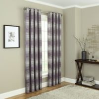 Payson 108-Inch Grommet 100% Blackout Window Curtain Panel in Amethyst
