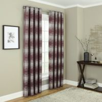 Payson 95-Inch Grommet 100% Blackout Window Curtain Panel in Wine