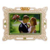 Celtic Wedding 4-Inch x 6-Inch Ceramic Frame