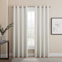 Tremor 108-Inch Grommet 100% Blackout Window Curtain Panel in Snow