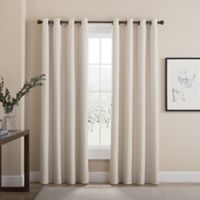 Tremor 108-Inch Grommet 100% Blackout Window Curtain Panel in Ivory