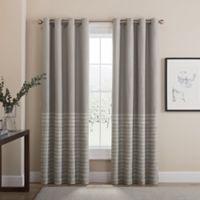 Tremor 63-Inch Grommet 100% Blackout Window Curtain Panel in Grey