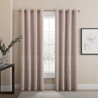 Tremor 108-Inch Grommet 100% Blackout Window Curtain Panel in Blush