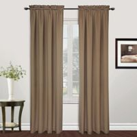 Metro 84-Inch Rod Pocket Window Curtain Panel in Taupe