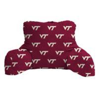 Virginia Tech Logo Backrest Pillow
