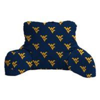 West Virginia University Logo Backrest Pillow