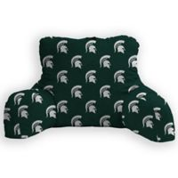 Michigan State University Logo Backrest Pillow