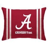 University of Alabama Rectangular Microplush Standard Bed Pillow