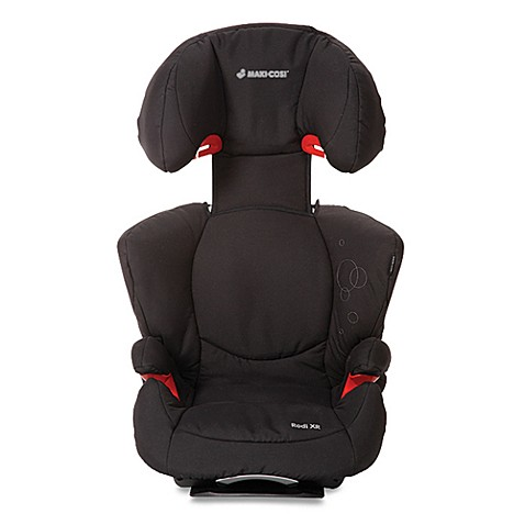 maxi cosi rodi xr booster car seat in total black bed. Black Bedroom Furniture Sets. Home Design Ideas