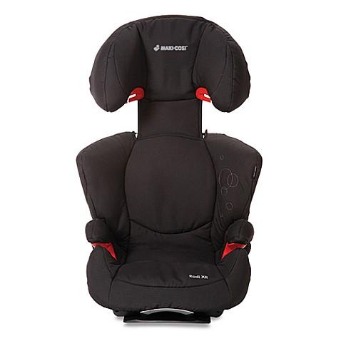 maxi cosi rodi xr booster car seat in total black bed bath beyond. Black Bedroom Furniture Sets. Home Design Ideas