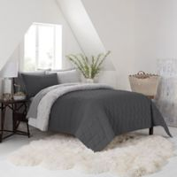 UGG® Terra Twin Quilt in Charcoal