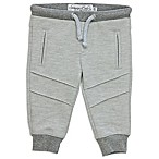 Sovereign Code™ Size 0-3M Ottoman Striped Jogger Pant in Heather Grey