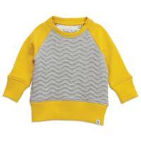 Sovereign Code™ Size 4T Crew Neck Sweatshirt in Yellow/Grey