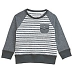 Sovereign Code™ Size 12M Textured Stripe Sweater in Grey