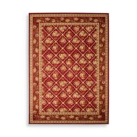 Safavieh Lyndhurst Collection Red Courtland 3-Foot 3-Inch x 5-Foot 3-Inch Rectangle Rug