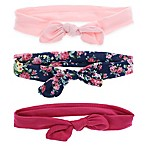 Capelli New York 3-Pack Infant Jersey Bow Head Wraps