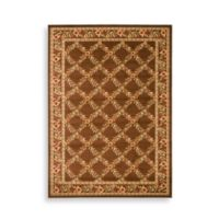Safavieh Lyndhurst Collection Feodore 6-Foot 7-Inch x 9-Foot 6-Inch Rectangle Rug in Brown