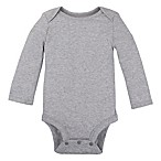 Lamaze® Size 0-3M Organic Cotton Long Sleeve Bodysuit in Grey