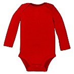 Lamaze® Size 0-3M Organic Cotton Long Sleeve Bodysuit in Red