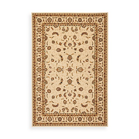 Safavieh Majesty Creme 5-Foot 3-Inch x 7-Foot 6-Inch Rug